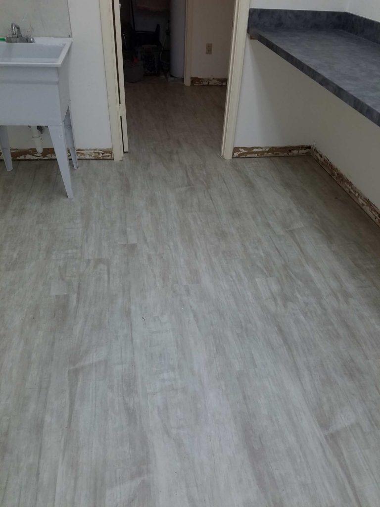 Vinyl Flooring Installation 3